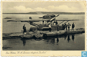 Dornier Wal vliegboot  op De Mok