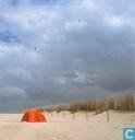 Tent op strand, Texel