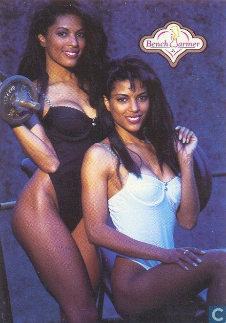 Trading cards - Bench Warmer - 1992 Premier Editon - Renee and Rosie ...