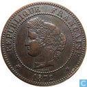 Frankrijk 5 centimes 1872 (K)