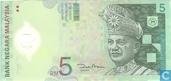 Malaysia 5 Ringgit ND (2004)
