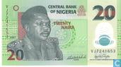 Naira Nigéria 20