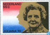 Koningin Juliana 70 jaar