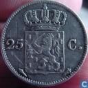 Pays Bas 25 cent 1829 U