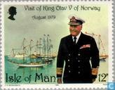 King Olav V Visit