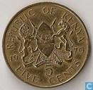 Kenia 5 cents 1970