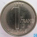 Belgium 1 franc 1994 (FRA