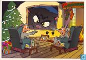 Kerstkaart Het Stripschap 1997