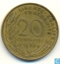 France 20 centimes 1963
