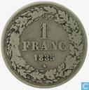 België 1 frank 1835