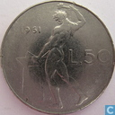 Italy 50 lire 1961