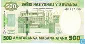 Rwanda 500 Francs 2004