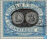 1931 Overprint (SAN P4)