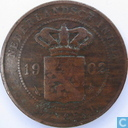 Dutch East Indies 2½ cent 1902
