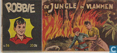 Comic Books - Robbie - De jungle in vlammen