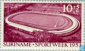 Opening stadium Paramaribo