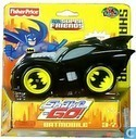 Superfriends Shake 'n Go Racers - Black Batmobile