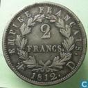 France 2 francs 1812 (D)