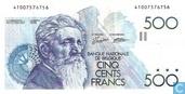 Belgium 500 Francs
