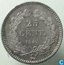 Frankreich 25 Centime 1847 (A)