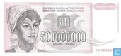 Jugoslawien 500 Dinara Million