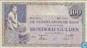 100 guilder Netherlands 1921