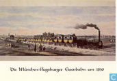 Die Muncher-Augsburger Eisenbahn um 1850
