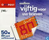 Postage Stamps - Netherlands [NLD] - Fifty for letters