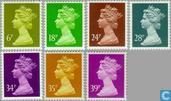 La Reine Elizabeth II, Machin Decimales
