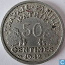France 50 centimes 1942