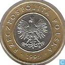 Pologne 2 zlote 1995