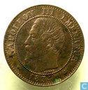 Frankreich 2 Centime 1854 (K)