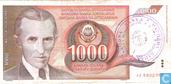 Bosnia Herzegovina 1000 Dinara