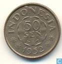 Indonesia 50 sen 1952
