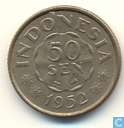 Indonesië 50 sen 1952
