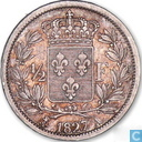 Frankreich ½ Franc 1827 (A)