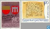 1987 Acquisition du comté de 275 années Vaduz (LIE 306)