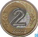 Coins - Poland - Poland 2 zlote 1995