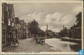 Onder de boompjes met gasfabriek, Hoorn
