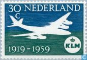 Timbres-poste - Pays-Bas [NLD] - 40 ans KLM