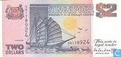 Singapore 2 Dollars