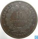 Coins - France - France 10 centimes 1872 (K)