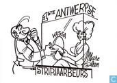 1ste Antwerpse Stripjaarbeurs - Postkaart 1