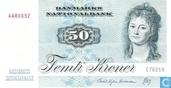 Danemark 50 couronnes