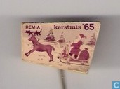 Remia Kerstmis '65 (horse sled)