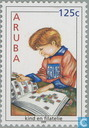 Child and philately