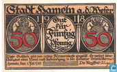 Hameln Weser annonce 50 Pfennig