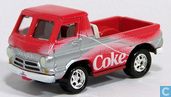 Modellautos - Johnny Lightning - Dodge A100 Pickup 'Coca Cola'