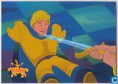 Esmeralda Holding Sword