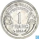 Frankrijk 1 franc 1944 (zonder letter)